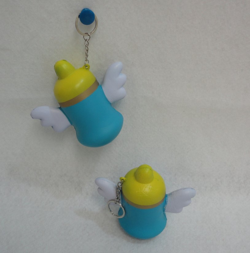 Slow Rising Squishy TOY Key Chain *BABY Bottle